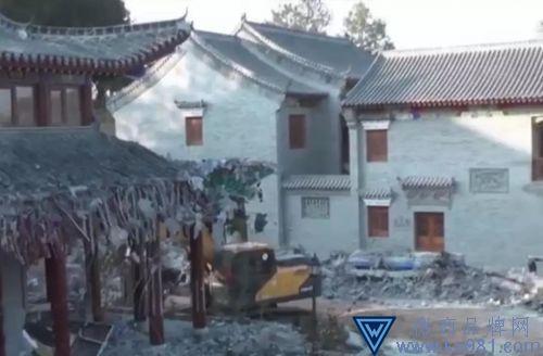 湖南邵东第一豪宅被拆:业主旗下有4家房企 曾被罚