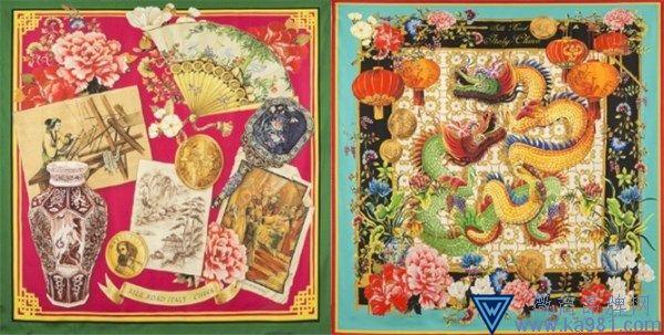 """杜嘉班纳推出""""丝绸之路""""丝巾 致敬中意建交50周年"""