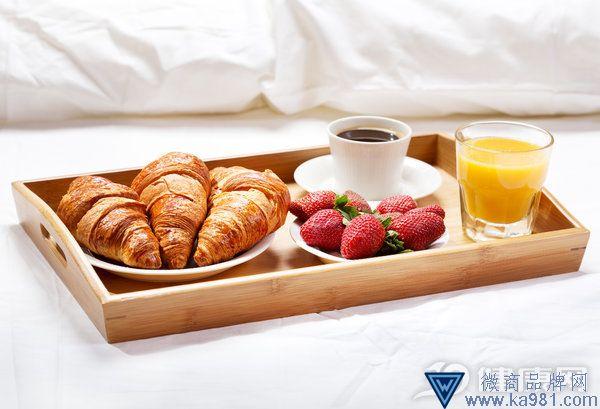 瘦的朋友都是这么吃早餐的