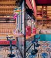集书吧、酒吧、咖啡吧于一体的新概念美发沙龙——卡尔沙龙